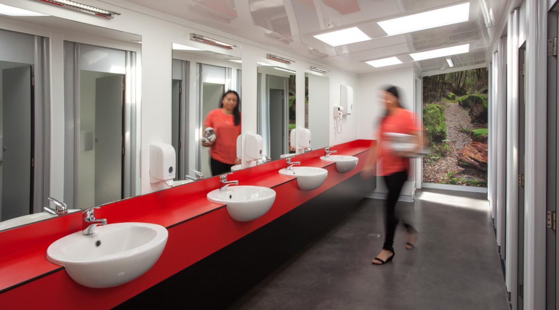 Communal Bathroom Facilities